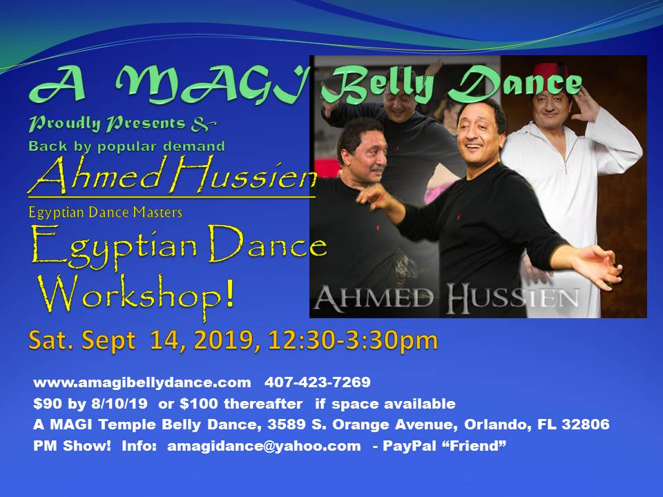 A MAGI TEMPLE World Belly Dance School Offers Belly Dance